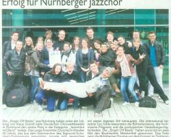 Erfolg für Nürnberger Jazzchor