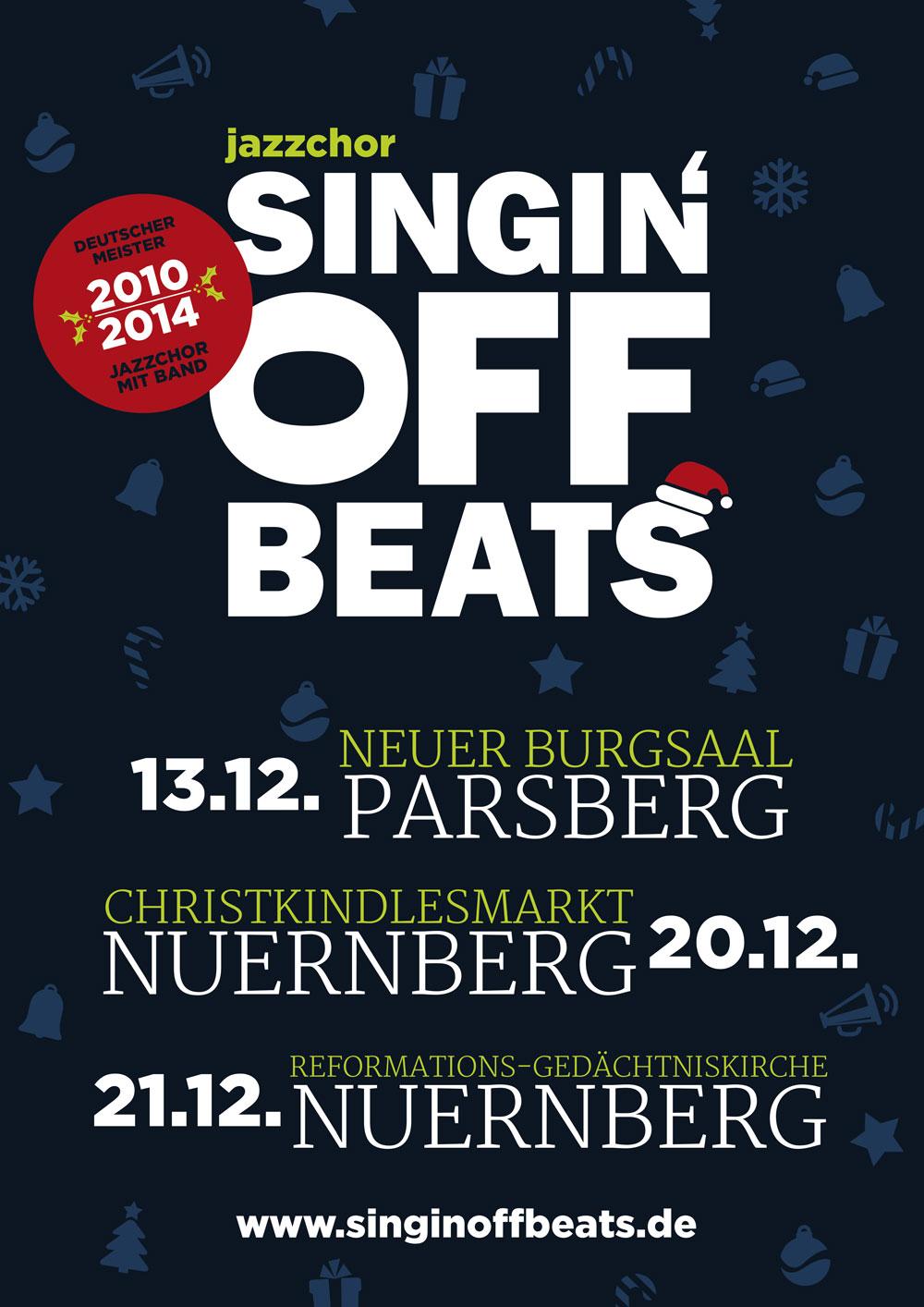 Flyer Weihnachtstour 2014