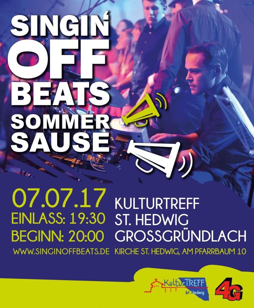 Singin' Off Beats Sommersause Konzert Nürnberg Großgründlach